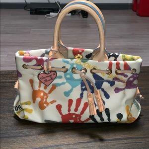 New (old) Dooney & Bourke Hans print Handbag